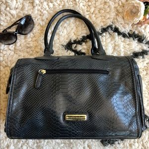 Dark Grey Steve Madden Satchel